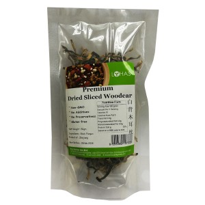 Premium Dired Sliced Woodear
