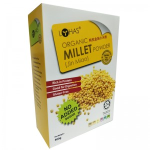 LOHAS Organic Millet Powder (Jin Miao) No Added Sugar