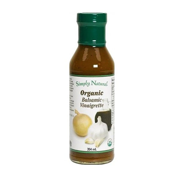 Home > Dressing > Simply Natural Organic Balsamic Vinaigrette Dressing