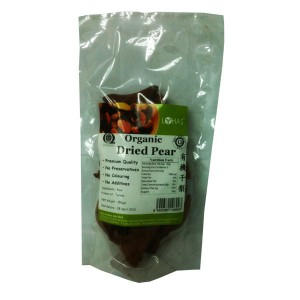 Organic Dried Pear
