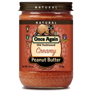 Old Fashioned Natural Peanut Butter Creamy with Salt