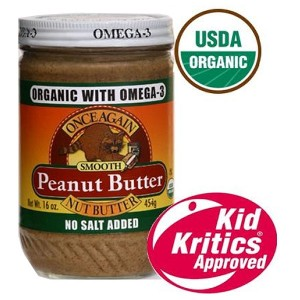 Omega 3 Organic Peanut Butter Smooth
