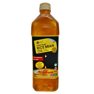 100% Pure Rice Bran Oil