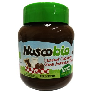 Nuscobio Hazelnut Chocolate Spread 100% Organic