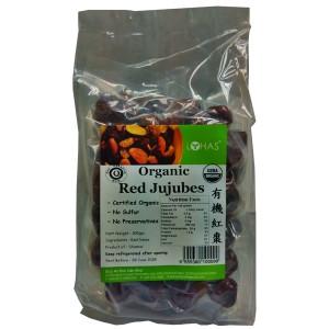 Organic Red Jujubes