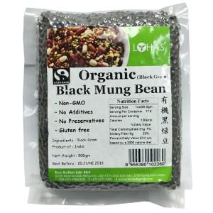 Organic Black Mung Bean