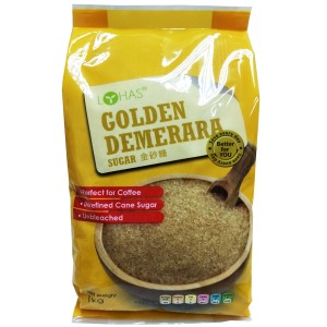 LOHAS Golden Demerara Sugar