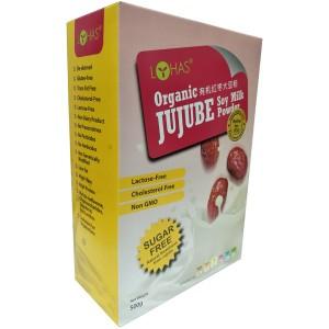 LOHAS Organic Jujube Soy Milk Powder (SUgar Free)