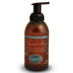 Melrose Organic Castile Soap Peppermint Pump