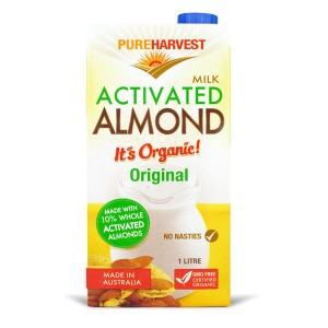 PureHarvest Organic Milk Activated Almond