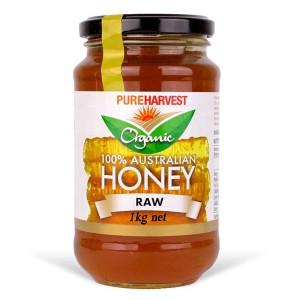 Pureharvest 100% Australia organic Honey Raw
