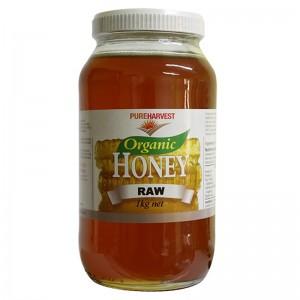 Pureharvest Organic 100% Australian Honey Raw 1kg