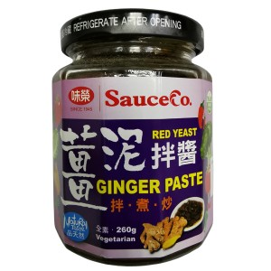 Sauce Co Red Yeast Ginger Paste
