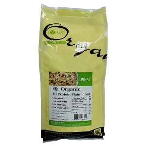 Organic Hi Protein Plain Flour