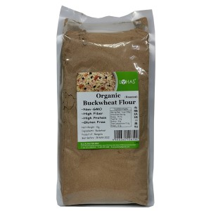Organic Buckwheat Flour (Roasted)