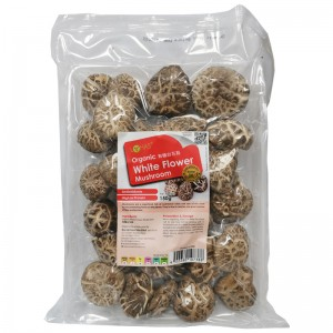 LOHAS Organic White Flower Mushroom