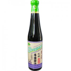 Organic Lower Sodium Soy Sauce