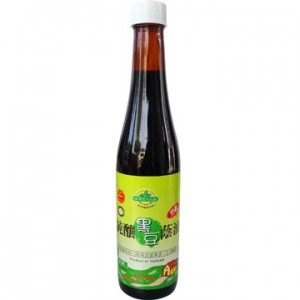 Organic Black Soy Bean Sauce Paste