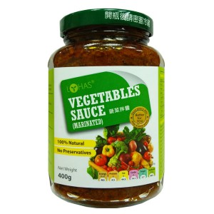 Natural Vegetables Sauce