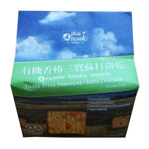 Organic Toona Sinensis Treasures Soda Cracker