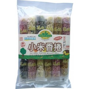 Natural Puffed Millet Roll