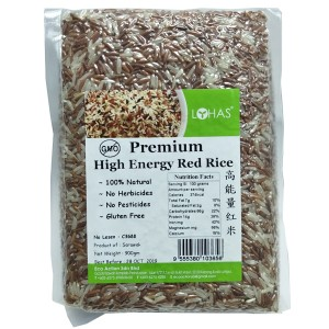 Premium High Energy Red rice