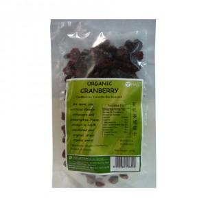 Organic Dried Whole Cranberry