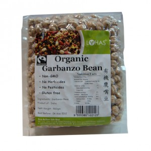 Organic Garbanzo Bean
