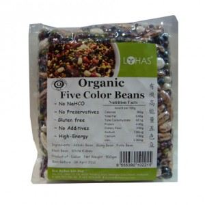 Organic Five Color Beans