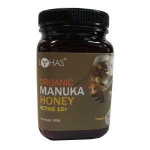 Organic Manuka Honey Active 15+