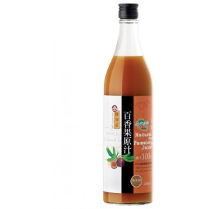 Natural Pure Passion Fruit Juice (No Sugar Added)