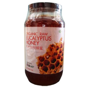 Organic Raw Eucalyptus Honey