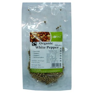 Organic White Pepper - Whole