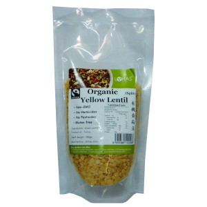 Organic Yellow Lentil - Split