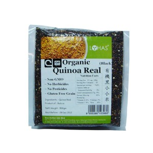 Organic Quinoa Real - Black