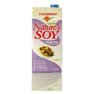 Organic Nature's Soy - Malt Free