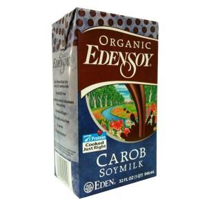 Organic Edensoy Carob Soymilk