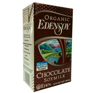 Organic Edensoy Chocolate Soymilk