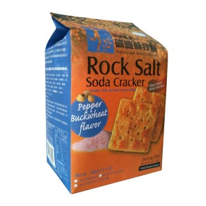 Rock Salt Soda Cracker (Pepper Buckwheat Flavor)
