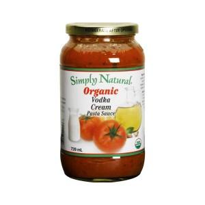 Simply Natural Organic Vodka Cream Pasta Sauce