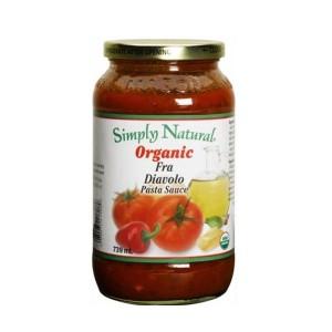 Simply Natural Organic Fra Diavolo Spicy Pasta Sauce