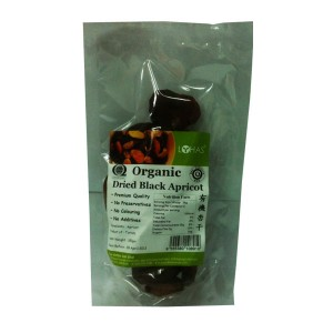 Organic Dried Black Apricot