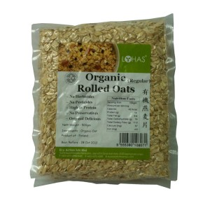 Organic Rolled Oats (Regular)