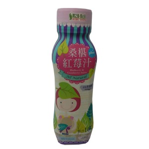 Ruhn Chan All Natural Mulberry & Cranberry Juice