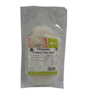 Organic Coarse Sea Salt