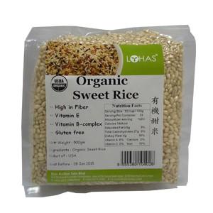 Organic Sweet Rice