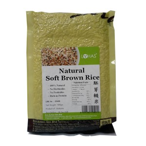 Natural Soft Brown Rice
