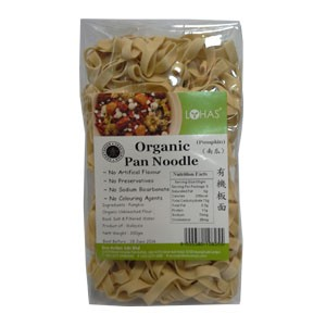 Organic Pan Noodle (Pumkin)