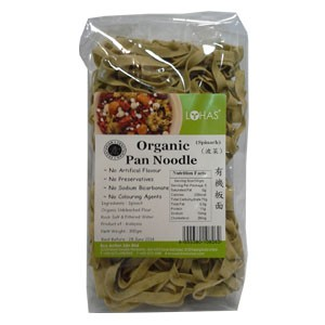 Organic Pan Noodle (Spinach)