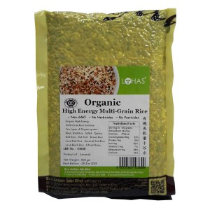 Organic High Energy Multi-Grain Rice